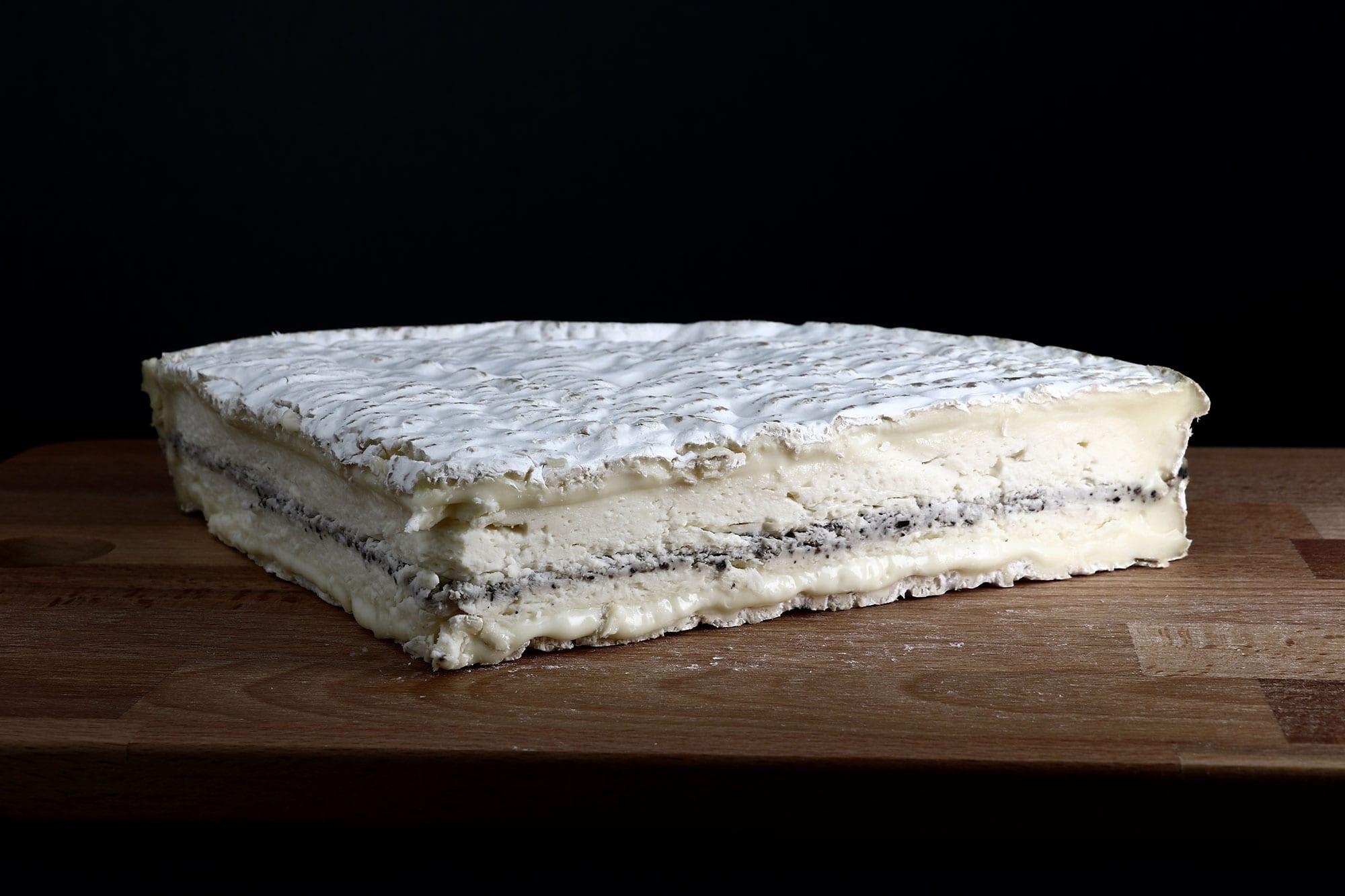 Brie a la truffe